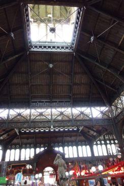 Santiago El Mercado Centrale roof