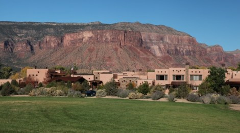 Gateway Canyons Resort canyon view
