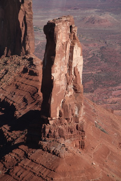My badass friend @mushroomcloud2 and her manfriend climbed this beast with her bare hands. She's a rockstar.