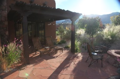 Gateway Canyons Resort casita terrace