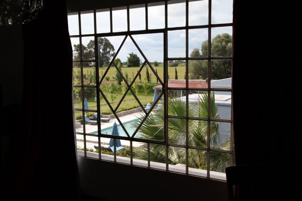 Narbona Wine Lodge vineyard view