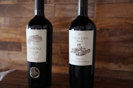 Narbona Wine Lodge wines