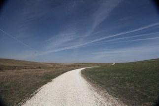 Tallgrass Prairie National Preserve sky
