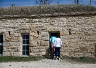 TALLGRASS PRAIRIE NATIONAL PRESERVE stone house