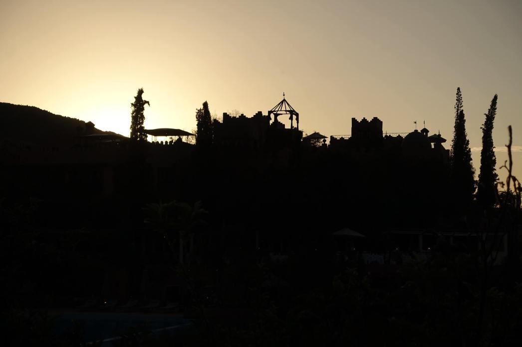 Kasbah Tamadot sunset view