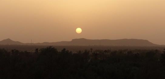 Dar Ahlam sunset