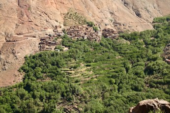 Hiking in the High Atlas village