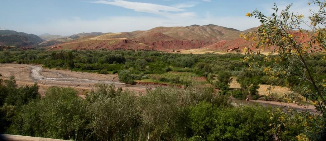 Kasbah Tamadot view