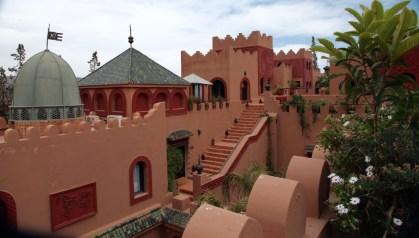 Kasbah Tamadot stairs