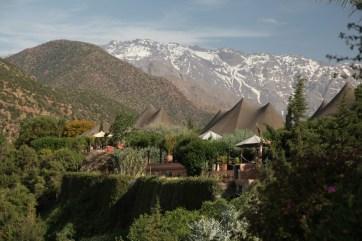 Kasbah Tamadot berber tent view