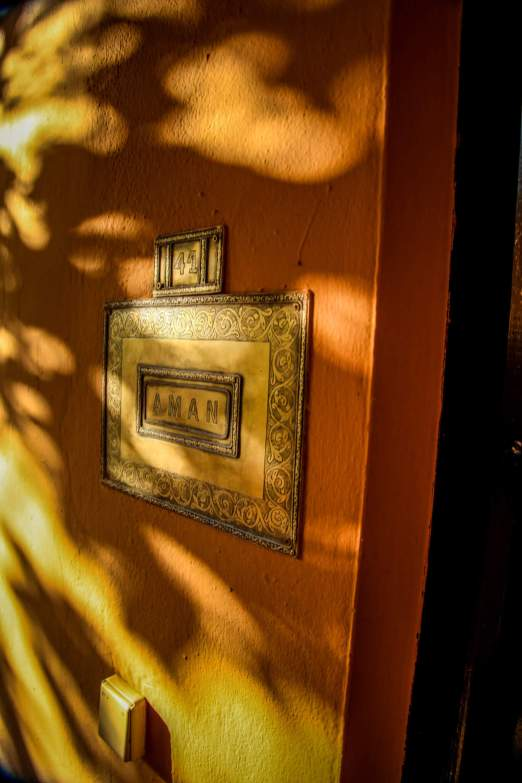 Kasbah Tamadot Master Suite door number