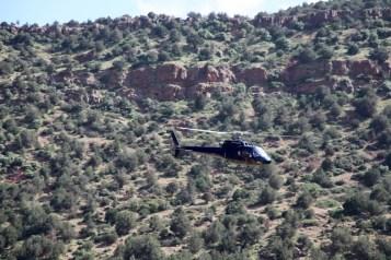 Kasbah Tamadot helicopter