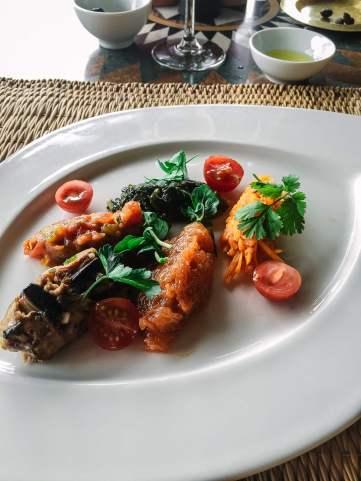 Kasbah Tamadot food