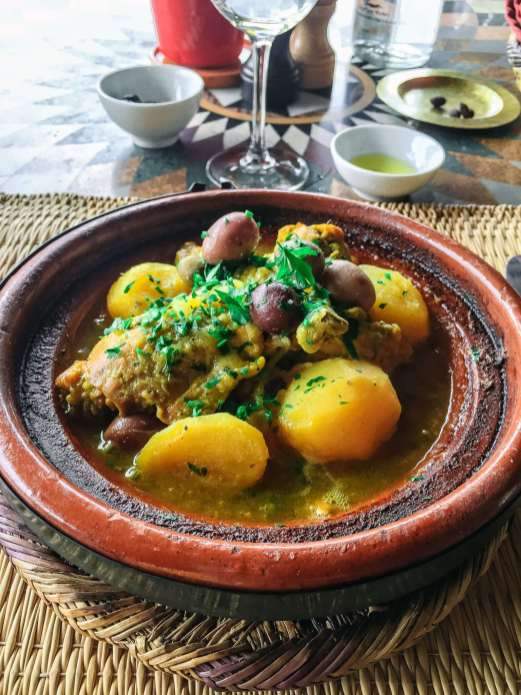 Tagine for breakfast. Tagine for lunch. Tagine for dinner. Lamb, chicken, fish or vegetables. It could never get old for me.