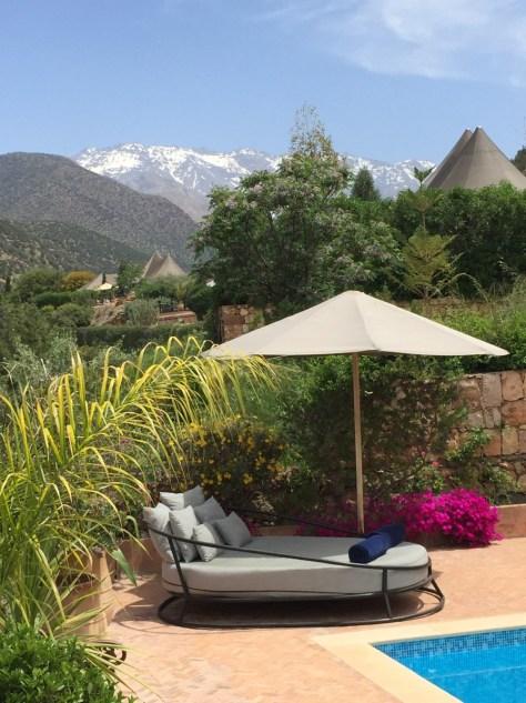 Kasbah Tamadot master suite view