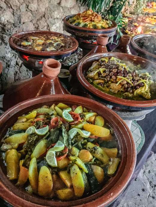 But always, always tagines. About the world's most perfect dish.
