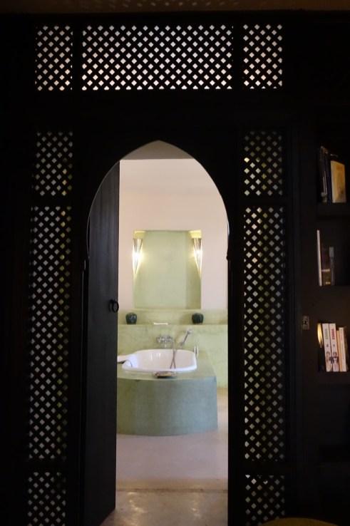 Dar Ahlam bathroom entrance