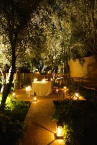 Dar Ahlam candlelight dining