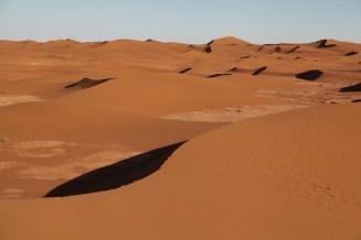 Dar Ahlam Tent Camp endless dunes