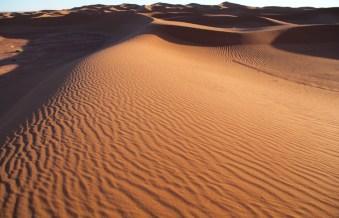 Dar Ahlam Tent Camp dune ocean