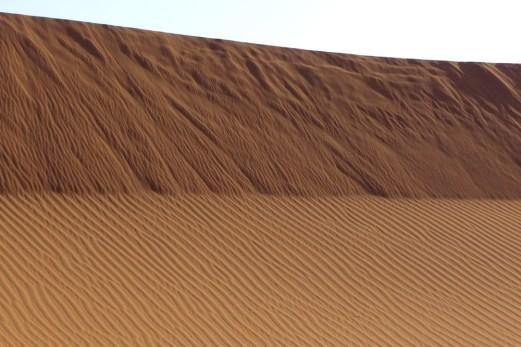Dar Ahlam Tent Camp sand wall