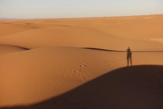 Dar Ahlam Tent Camp sunset selfie