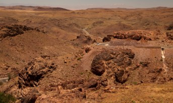 Dar Ahlam Tent Camp desert drive
