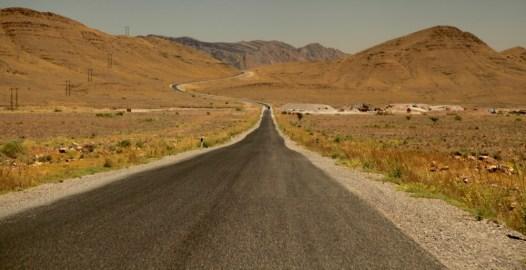 Morocco N9 highway