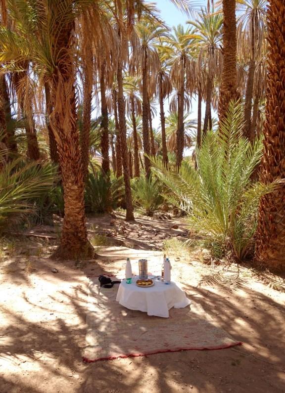 Dar Ahlam lunch in oasis