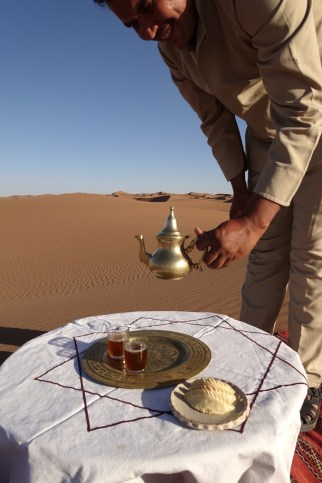 Dar Ahlam Tent Camp tea