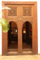 LA VILLA DES ORANGERS front doors