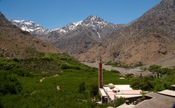Armed view of Toubkal