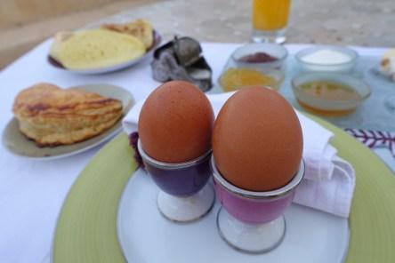 Textured breakfast Marrakesh