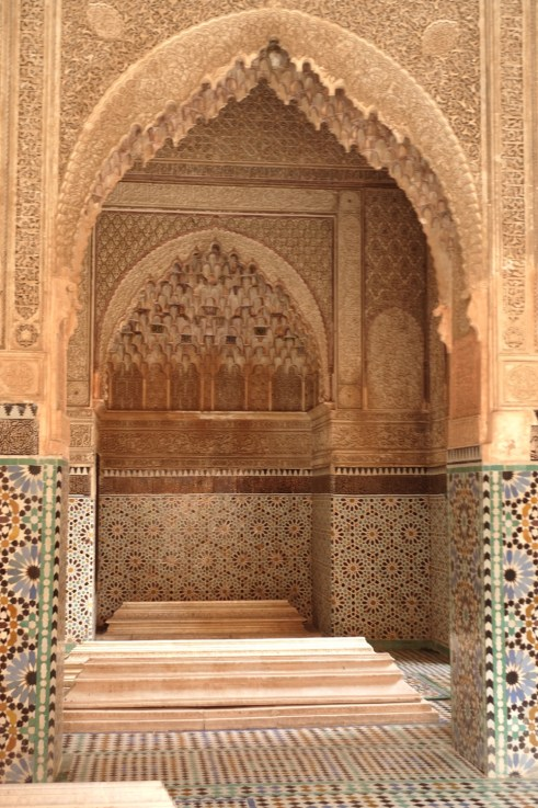 King's tomb Marrakesh entry