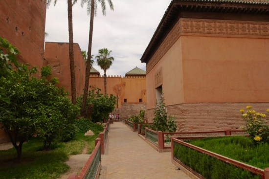 King's tomb Marrakesh view