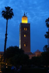 Marrakesh mosque towers