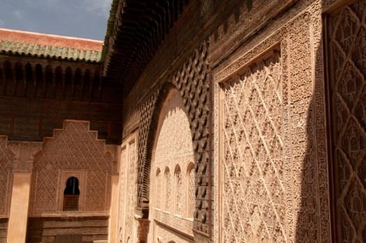Medrassa Marrakesh wall
