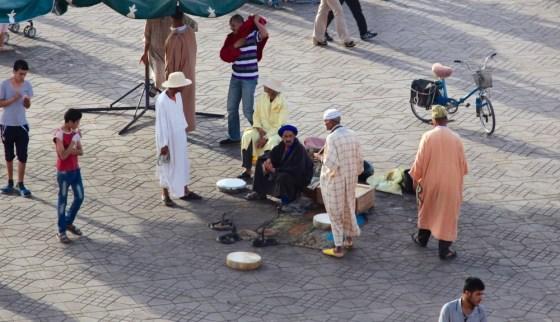 Jemaa el-Fnaa snake charmers