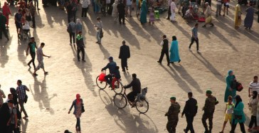 Jemaa el-Fnaa bikes