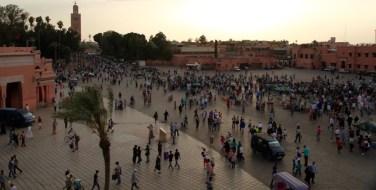 Jemaa el-Fnaa sunset
