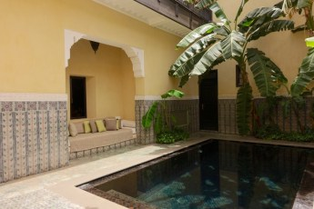 Villa des Orangers riad pool