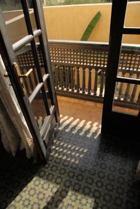 Villa des Orangers room doorway