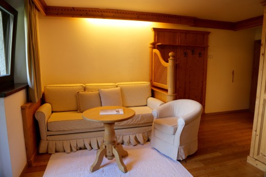 Hermitage BioHotel room seating