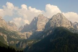Brenta Range close