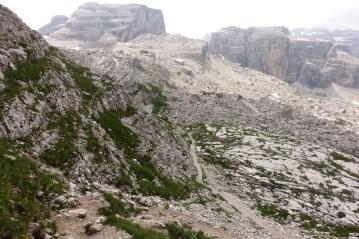 Hike to Rifugio Tuckett