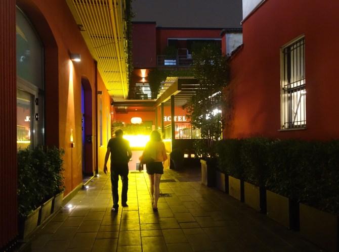 The Yard Milano entrance