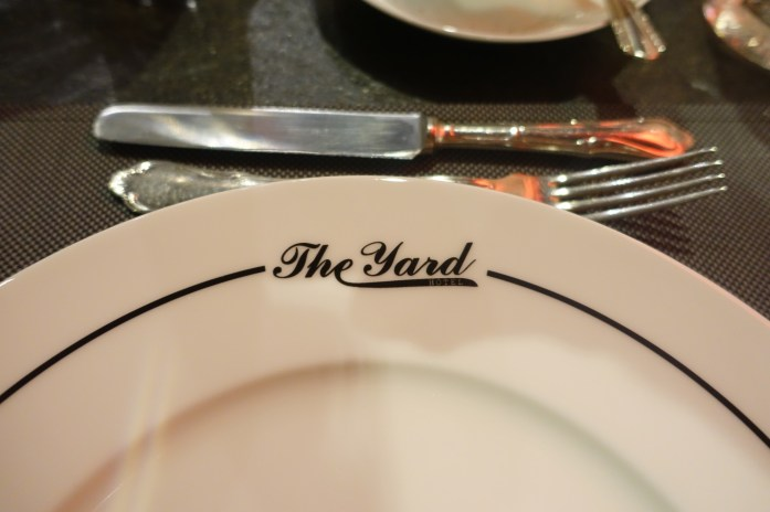 The Yard Milano plate
