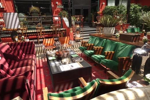 The Yard Milano seating