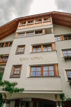 Rosa Alpina exterior windows