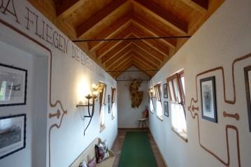 Hotel Rosa Alpina hallway
